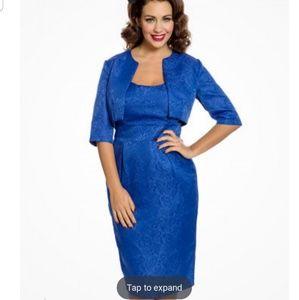 LINDY BOP MARGUERITE 2-piece suit blue US XL, UK16
